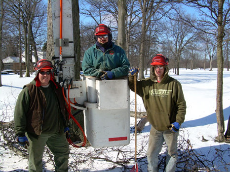 All employees are certified annually for EHAP - Mike (left) was ISA certified in 2004.